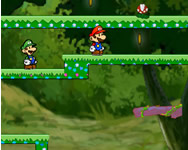 Mario and Luigi escape 3 online játék